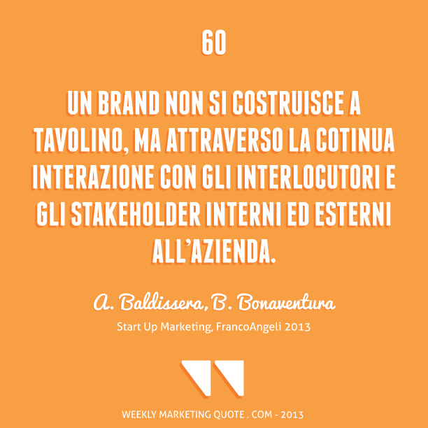 citazione di marketing start up bonaventura
