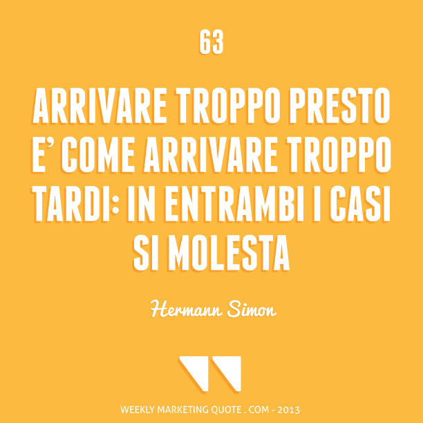 citazione di marketing hermann simon