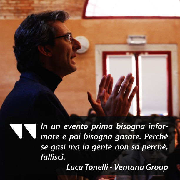 marketers brunch Ventana luca tonelli